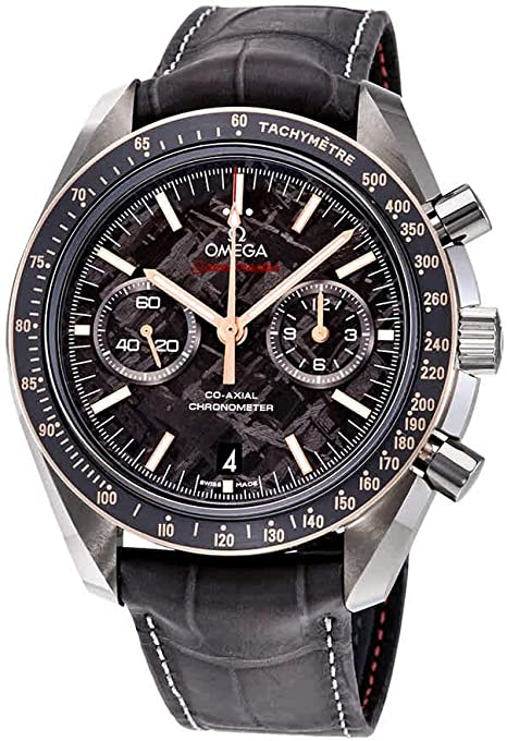 Reloj Omega Speedmaster Moonwatch Meteorite Dial reloj para hombre 311.63.44.51.99.002