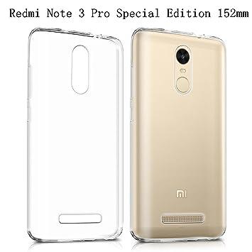 Xiaomi Redmi Note 3 Pro Special Edition Case HeyqieTM Thin Transparent TPU