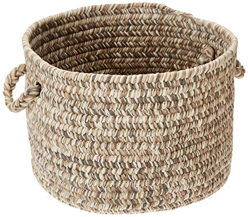 Colonial Mills Corsica Utility Basket, 18 by 12-Inch, Storm Gray from Colonial Mills