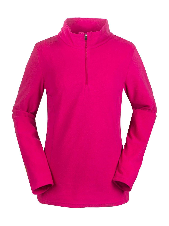 aparso Damen Microfleece Pullover mit Stehkragen Skirolli Dünn Atmungsaktiv