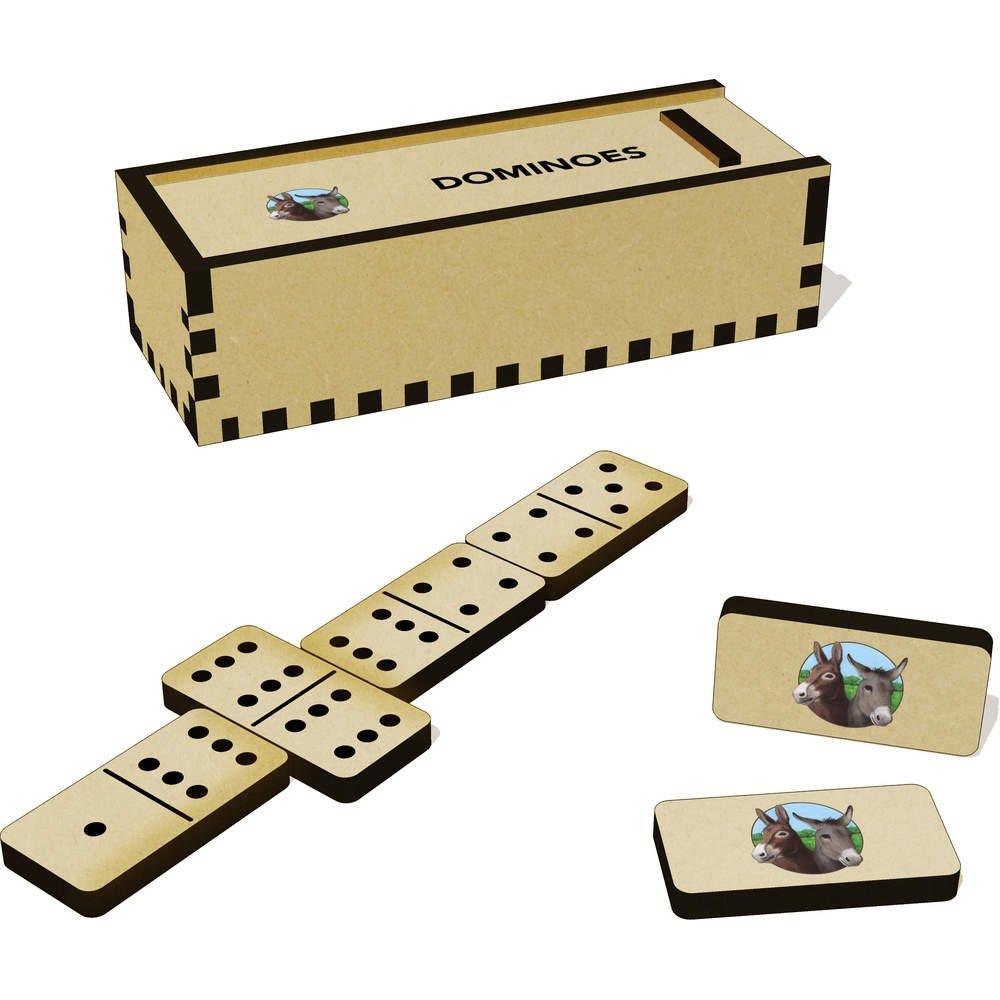Due Gioco E Asini Domino Dm00018366 Giochi Tradizionali Scatola 5R34jLcAq