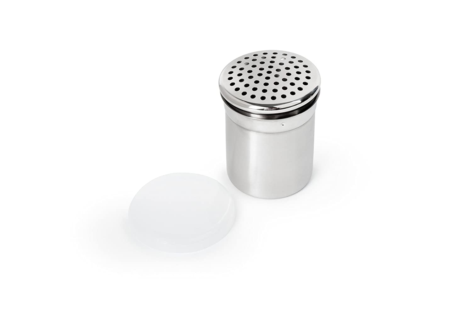 Stainless Steel 3.75-Inch Fox Run 1025 Shaker with Large Holes