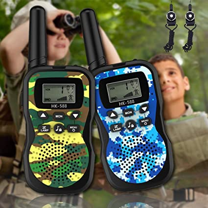 Dreamingbox Handheld Walkie Talkies for Kids Best Gifts