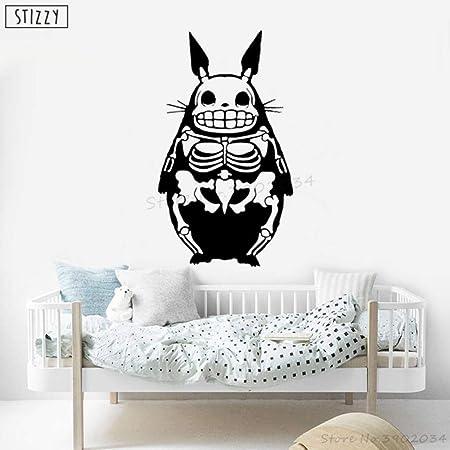 Tatuajes de pared de Dibujos Animados Divertido Esqueleto de ...