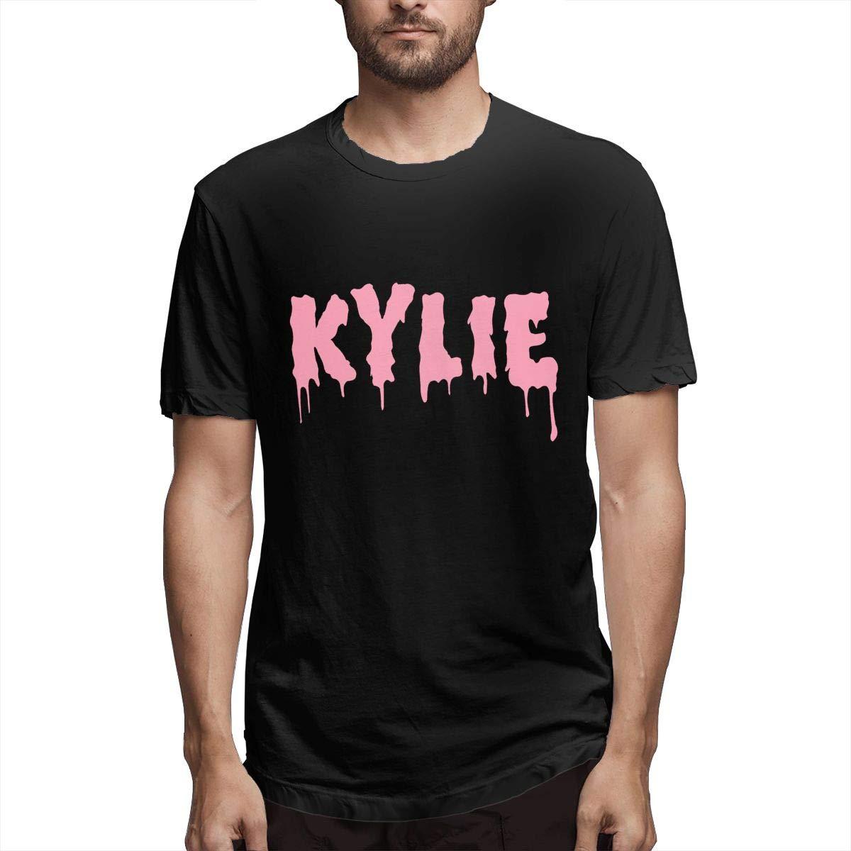 Lihehen Mans Kylie Logo Fashion Leisure Round Neck Shirt
