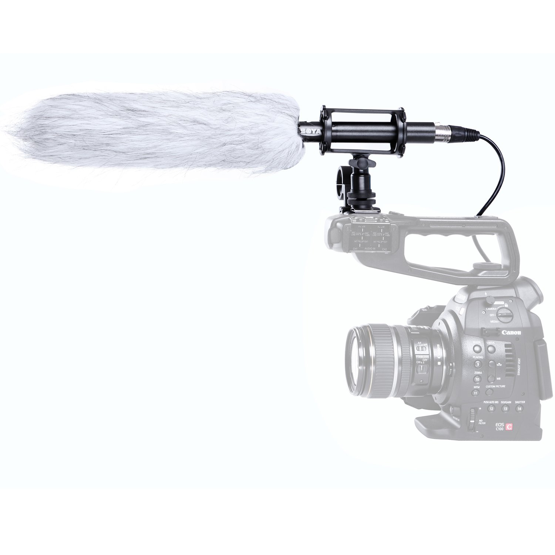 BOYA by by-pvm-1000l Professionelle Kondensator Shotgun Mikrofon für Kamera BY-PVM1000L