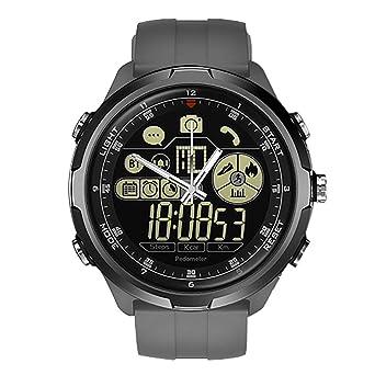 LILICAT Montres ConnectéEs Tendance-Pro Smartwatch Montre connectée avec cardiofréquencemètre,Affichage Multicouches (Google Assistant, GPS, Wear OS, ...