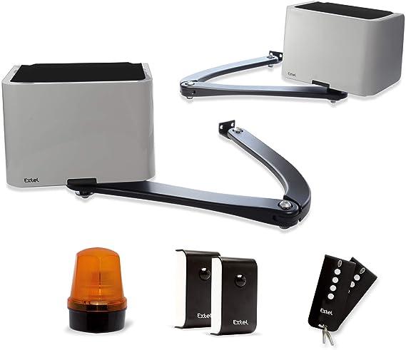 Extel 762406 Hello B motorización de brazos batientes, 1 W, Gris: Amazon.es: Bricolaje y herramientas