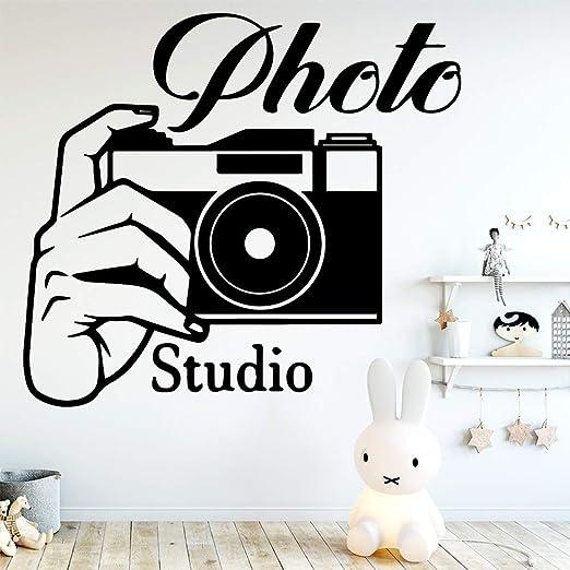 Estudio fotográfico creativo etiqueta de la pared decoración ...
