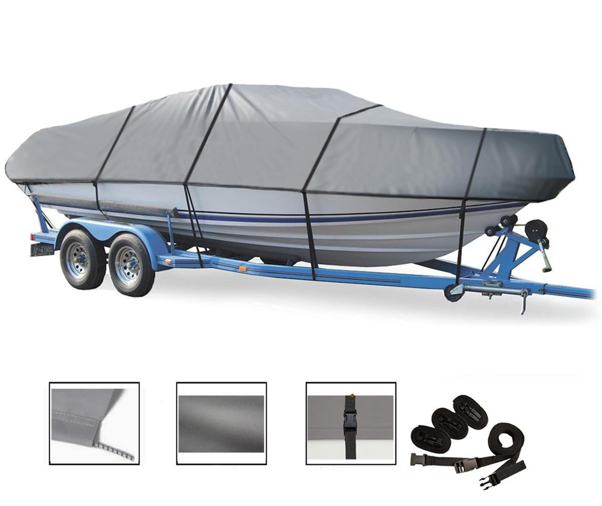GREAT QUALITY BOAT COVER FITS BAYLINER CAPRI 1952 CN CUDDY 1999 00 01 02 by SBU