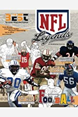 NFL Legends: The Ultimate Coloring, Activity and Stats Football Book for Adults and Kids (35 BEST BIOGRAPHY) (Volume 2) Paperback