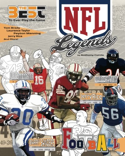 NFL Legends Coloring Book