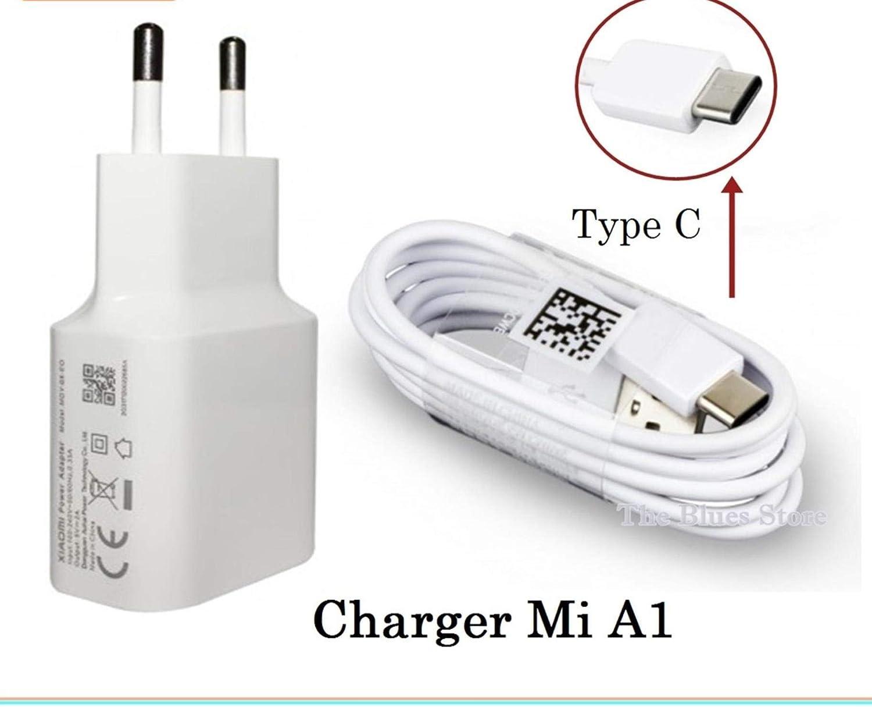 Xiaomi Cargador MDY-08-EO (5V/2A) + Cable USB Tipo C, Blanco ...