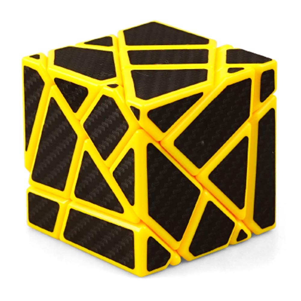 JIAAE 3X3 Allotype Zauberwü rfel Hoch Schwierigkeitsgrad Puzzle Rubik Kinder Intelligenz Spielzeug, Blue