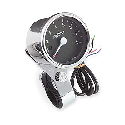 Biker's Choice Electronic Custom Mini Tachometer: Automotive