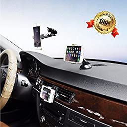Clemagic Premier 3-in-1 Universal Mobile Phone Car Mount