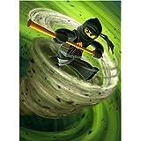 Lego Ninjago (14inch x 19inch / 35cm x 48cm) Silk Print Poster - Soie Affiche - 622A57
