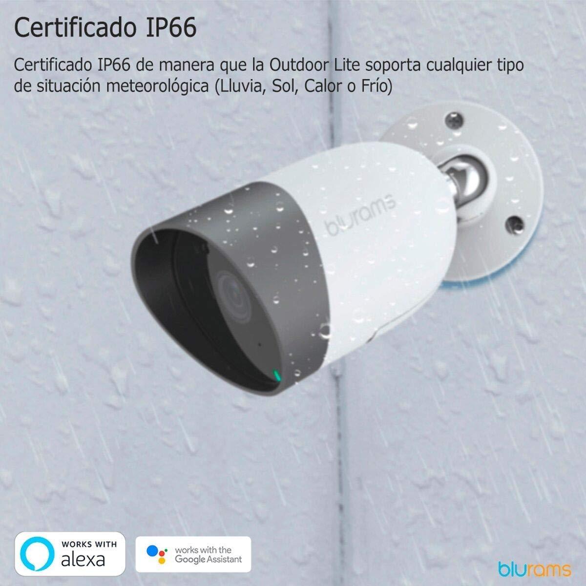 Modo Crucero Blurams Dome Pro 1080p FHD C/ámara de Vigilancia en Domo para el Hogar-WiFi Mic.Alt Detecci/ón Inteligente Personas//Animales//Sonidos Alertas Tiempo Real Visi/ón Panor/ámica iOS /& Android