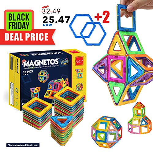 MAGNETOS Magnetic Blocks Building Set for Kids