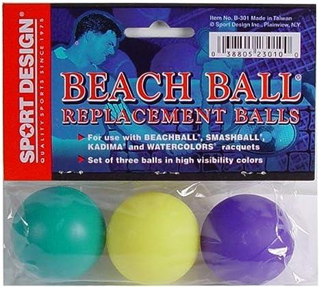 bolsa pelotas tenis playa plastico