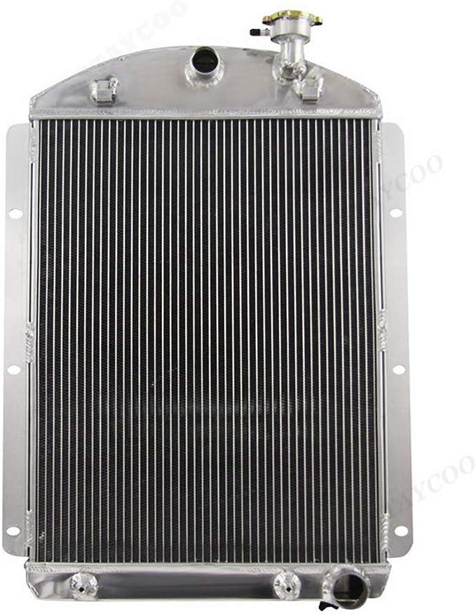 3 core aluminum radiator for Chevy Pickup Truck 1941-1946