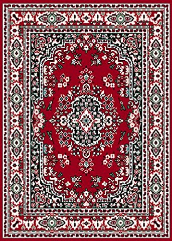 Home Dynamix 10-7069-202 Premium Collection Area Rug, 9 x 12-Feet, Claret (Area Rug 12 By 12)