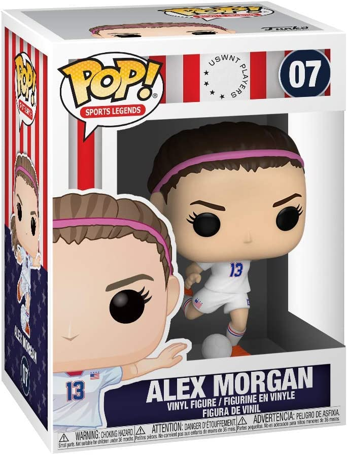 The U.S Womens Soccer Team Sports Funko Pop Alex Morgan,Multicolor