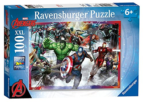 Marvel Avengers Initiative 100 Piece Puzzle Featuring Thor Captain America Hulk Iron Man and More Ages 6+