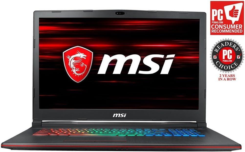 "MSI GP73 Leopard-609 (8th Gen Intel Core i7-8750H, 8GB DDR4 2666MHz, 1TB HDD, NVIDIA GeForce GTX 1060 6GB, 17.3"" Full HD 120Hz 3ms Display, Windows 10 Home) VR Ready Gaming Laptop"