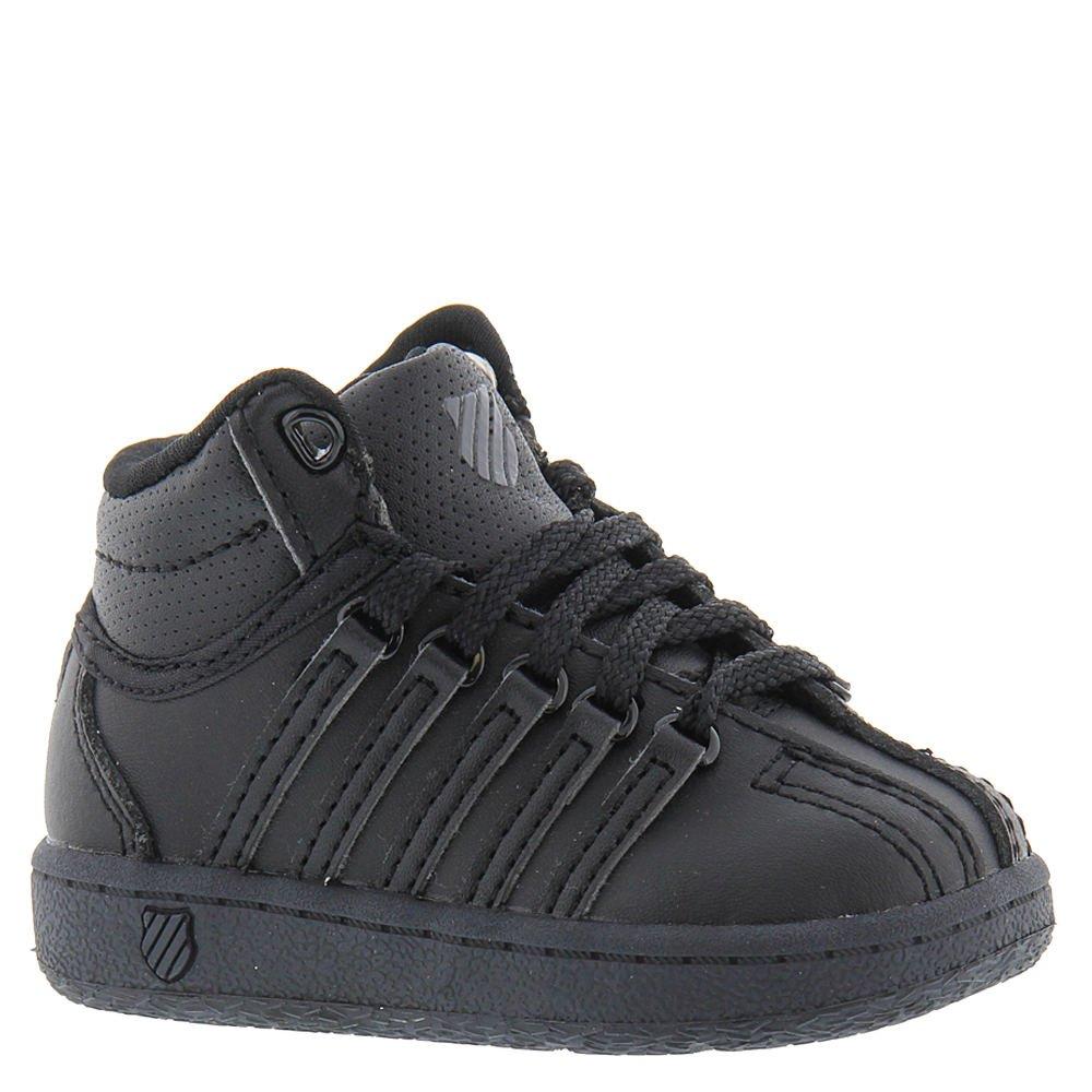 K-Swiss Classic VN Mid Shoe, Black/Black, 9.5 M US