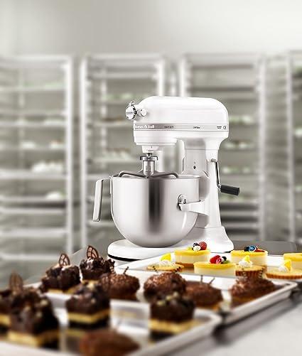 KitchenAid Professional 5KSM7591XBWH 500-Watt Stand Mixer (White)