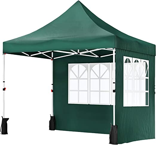 SONGMICS Carpa Marquesina 3 x 3 m, Anti-UV, Toldo Impermeable con ...