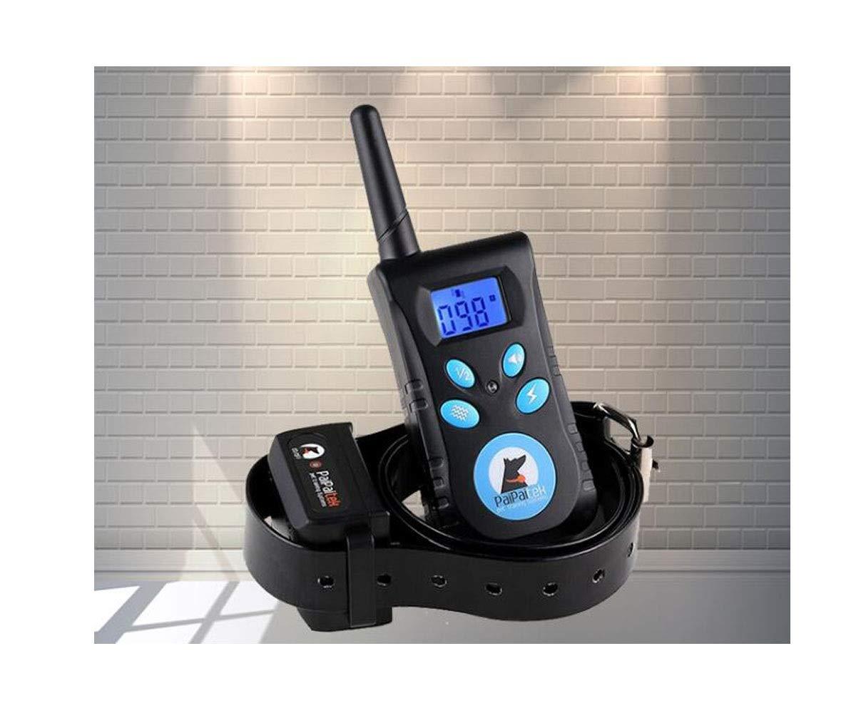 Black 5.53.52.5cm Black 5.53.52.5cm Dog Collar, Snoring Device Large and Medium-Sized Electronic Electric Shock Collar Training Dog Remote Control Training Dog Supplies Dog Dog Anti-Caller (color   Black, Size   5.5  3.5  2.5cm)
