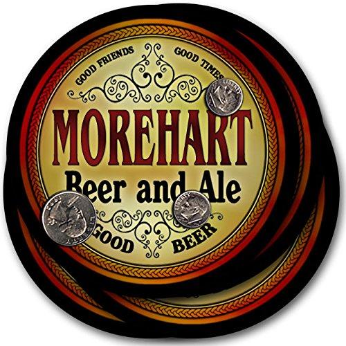 Morehartビール& Ale – 4パックドリンクコースター   B003QXSFFU