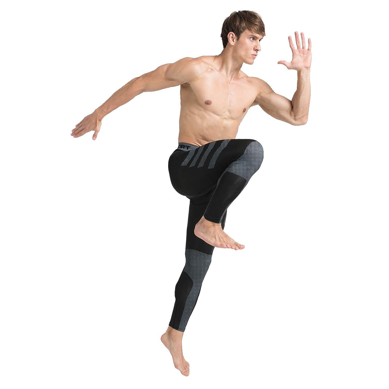 Amzsport Pantalones De Compresion Para Hombre Pantalones Para Correr En Seco Y Fresco Sport Gym Medias Leggings Y Medias Deportivas