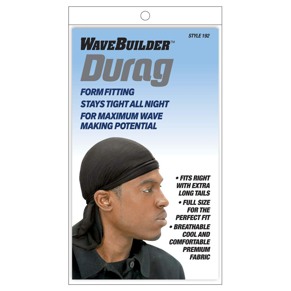 Wavebuilder Durag - Black
