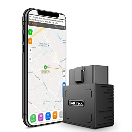 SinoTrack GPS Tracker Platform No Monthly Fee, Real-Time OBD Car GPS  Tracking Device Locator, Mini OBD II Vehicle Tracker with Alert System for  Car,