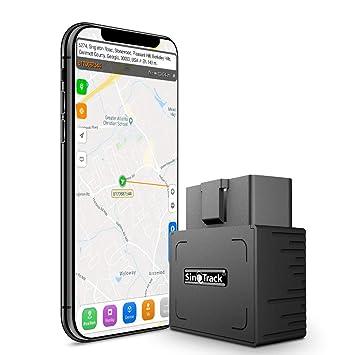 SinoTrack - Localizador GPS para coche sin cargo mensual ...