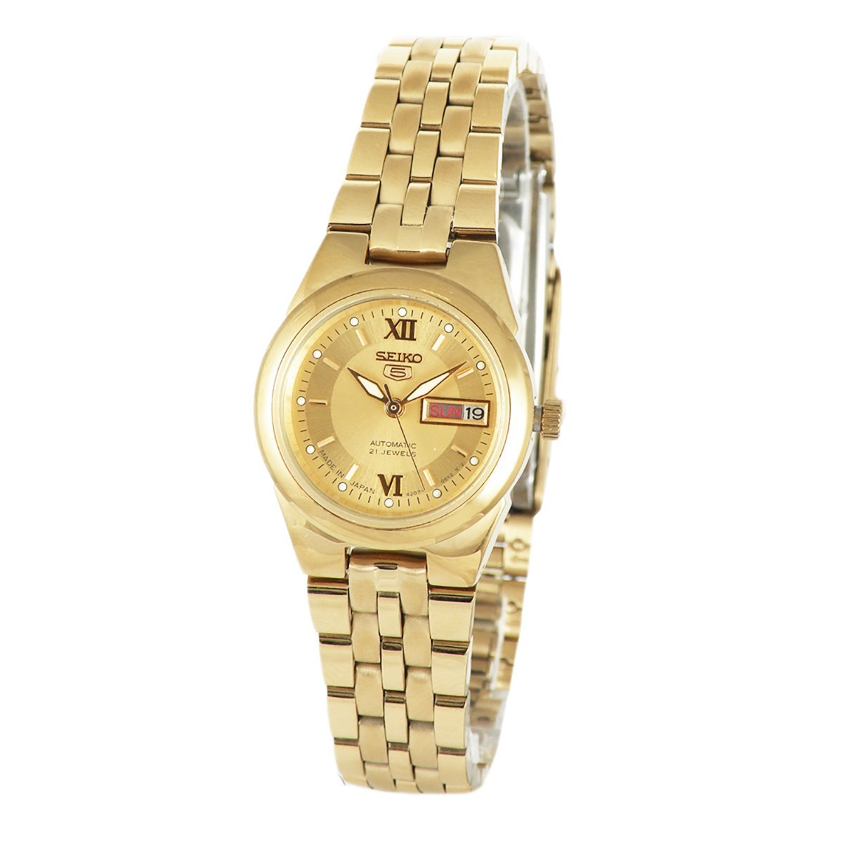 70d84a5bd Amazon.com: SEIKO 5 Automatic Ladies Watch SYMG80J1: Watches