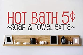 pegatinas de pared harry potter Baño caliente 5 centavos, jabón y toalla extra para baño: Amazon.es: Bricolaje y herramientas