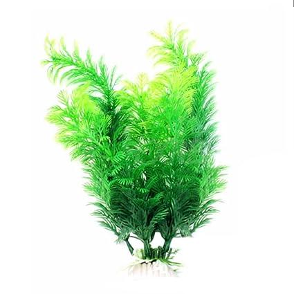 LAMEIDA Plantas de acuario Piscifactorías Plantas de plástico Plantas de peces Plantas de acuario Tanque de