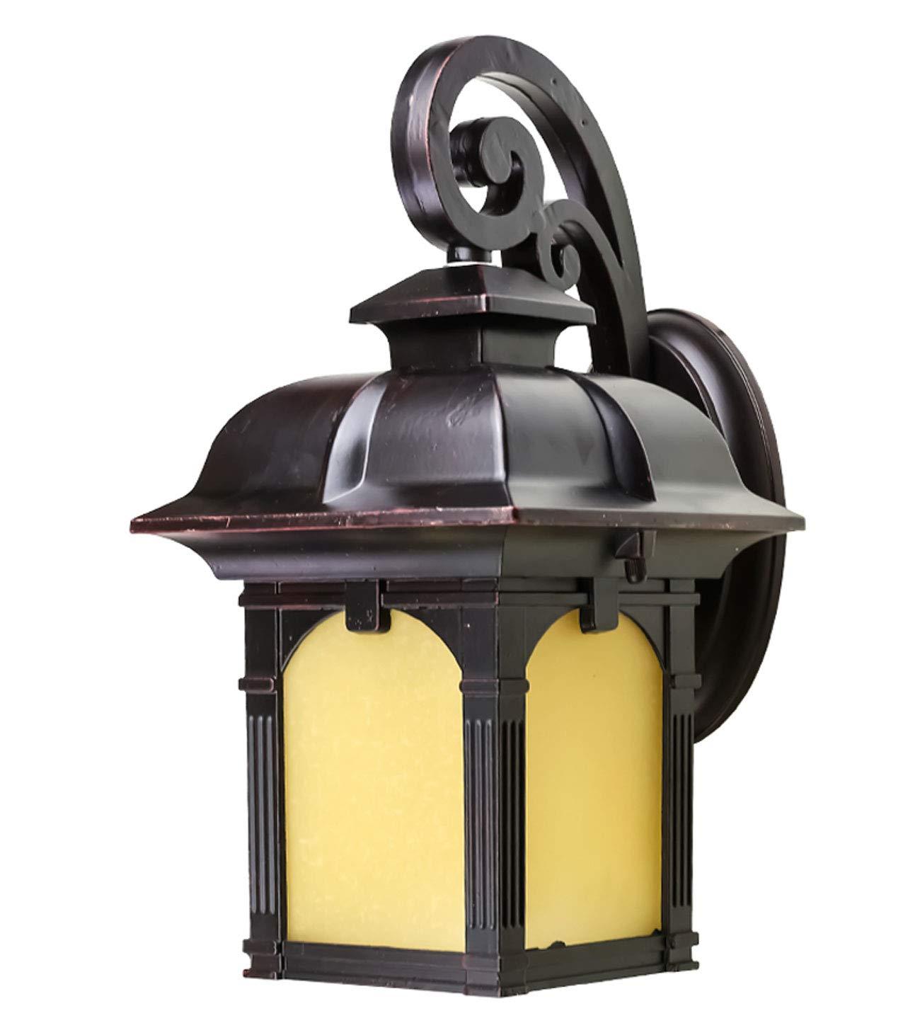 Lampada da testa europea colonna lampada da parete europea lampada da parete piazza esterna porta lampada pilastro lampada balcone antico lampada esterna LED lampada a sospensione villa lampada format
