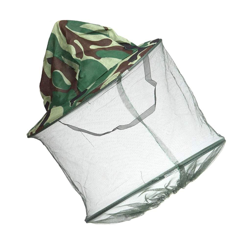 Cubierta de la Cabeza Cabeza 1PC pr/áctica al Aire Libre de Malla mosquitera Neta Claro Malla para Amantes del Aire Libre
