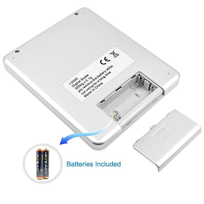 Senhai retroiluminado Display precisa escala digital de bolsillo con Piezas Counting Funciones (astilla): Amazon.es: Electrónica