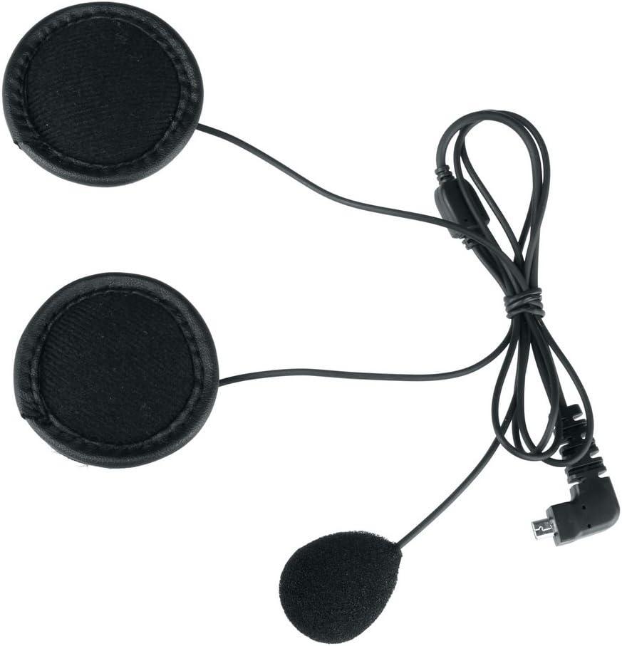 USB C, Microphone Doux USB Type C Doux Microphone et /Écouteur Accessoire de Remplacement pour BT-S2 et BT-S3 Intercom Moto