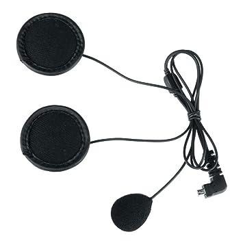 Cable suave auricular traje de micrófono para BT-S2 casco motocicleta intercom auricular (micrófono