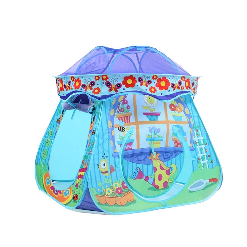 venderse como panqueques azul azul azul BAIF Casa de Juegos Plegable para niños, el Reino Privado de los Juguetes de los bebés para Interiores al Aire Libre (sin tapete) (Color  Azul)  perfecto