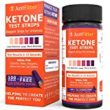 #4: Just Fitter Ketone Test Strips. Lose Weight, Look & Feel Fabulous on a Low Carb Ketogenic or HCG Diet. Get Your Body Back! Accurately Measure Your Fat Burning Ketosis Levels in 15 Seconds. 125 Strips.