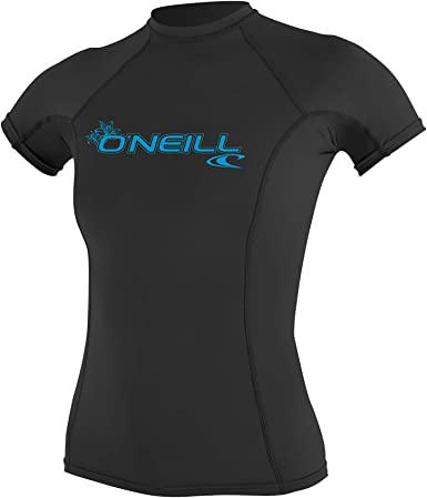 ONEILL WETSUITS ONeill - Camiseta de Neopreno para Mujer con protección UV, Manga Corta, Cuello Redondo: Amazon.es: Ropa y accesorios