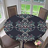 kitchen 67 specials PINAFORE HOME Modern Simple Round Tablecloth Vintage Patten Classic Baroque Wallpaper Vector Background Decoration Washable 67